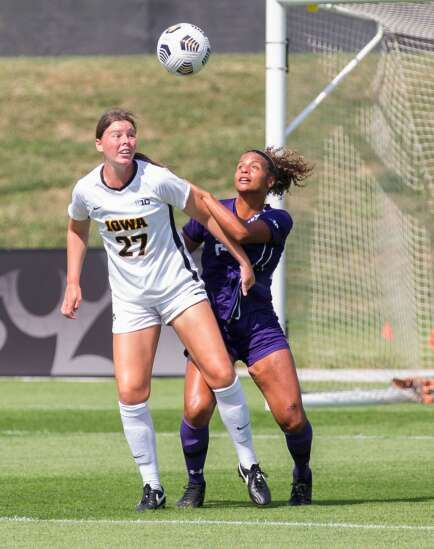 Photos: Iowa soccer vs. Northwestern