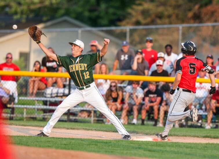 Photos: Linn-Mar vs. Cedar Rapids Kennedy, Class 4A Iowa high school substate baseball semifinals