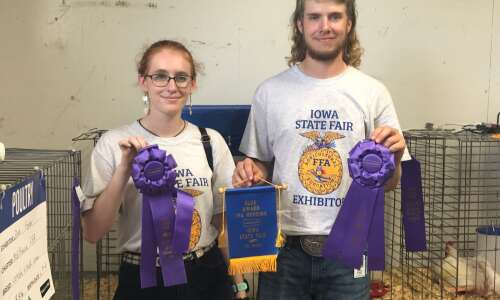 Fisher family wins big at state fair