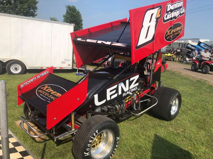 Tom Lenz happy to drive closer to home at Benton County Speedway