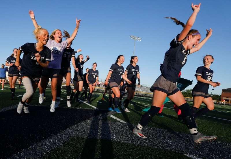 Defending champs still defending as Cedar Rapids Xavier beats Mount Vernon in girls' soccer regional final