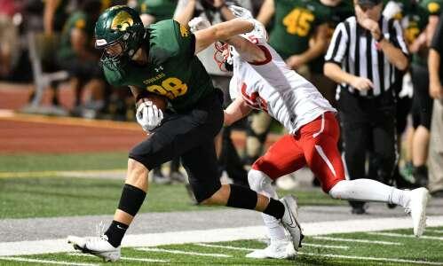 Class 5A Iowa high school football RPIs, through Week 7