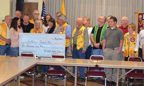 Fairfield Lions Club donates $10,000 to new child care center
