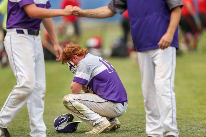 Photos: Lansing Kee vs. Council Bluffs, Class 1A Iowa high school state baseball championship