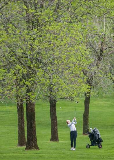 Photos: Wamac East girls' golf meet in Solon
