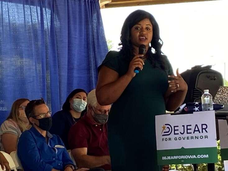 Deidre DeJear enters 2022 Iowa governor's race