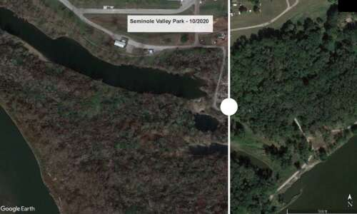 Before and after: Satellite images show how derecho changed landscape