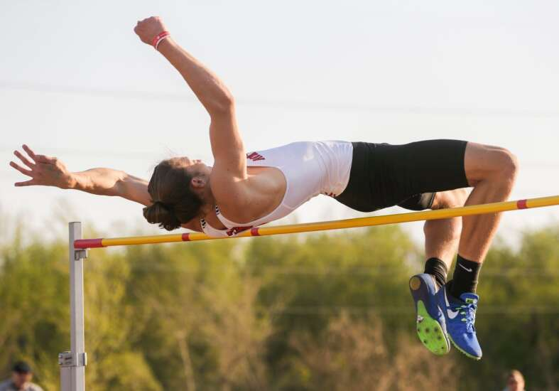 Photos: Pacha Relays at Clear Creek Amana, Iowa high school track and field