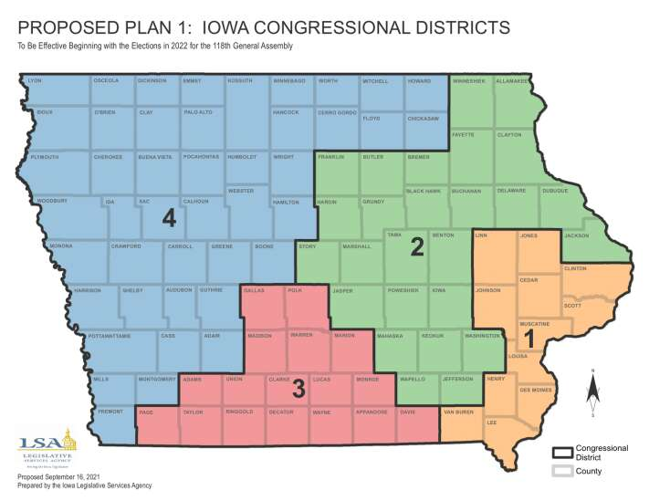 Both parties could see pros in Iowa's congressional election proposals