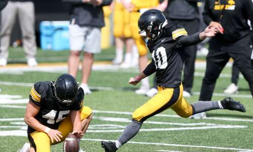 How recent Iowa football kickers continue to build legacy