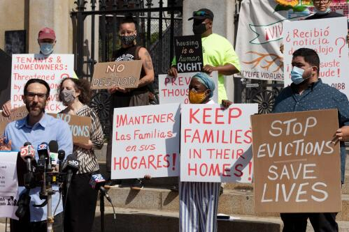 Eviction ban ends with billions of rental aid still unspent