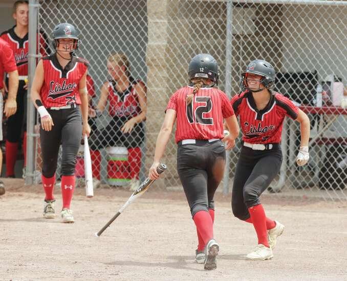 Photos: Lisbon vs. Wayne, Class 1A Iowa high school state softball semifinals