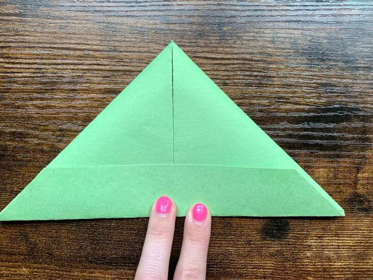 Make your own floating paper boat