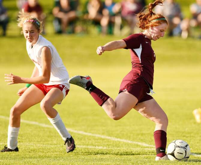 Maia Bentley is the rare combination of goal-scorer and goal-provider for Mount Vernon girls' soccer