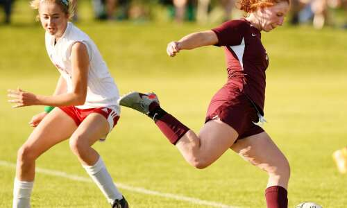 Maia Bentley scores and provides goals for Mount Vernon