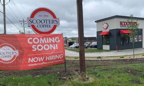 Scooter's Coffee opening new Cedar Rapids, Iowa City locations