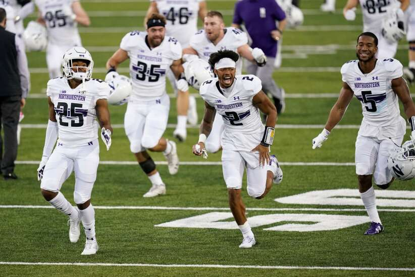 Not the norm: Northwestern lines up ahead of Iowa in 2021 NFL draft