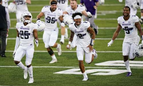 Northwestern lines up ahead of Iowa in 2021 NFL draft