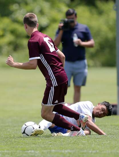 Photos: West Liberty vs. Western Christian, Iowa Class 1A boys' state soccer semifinals