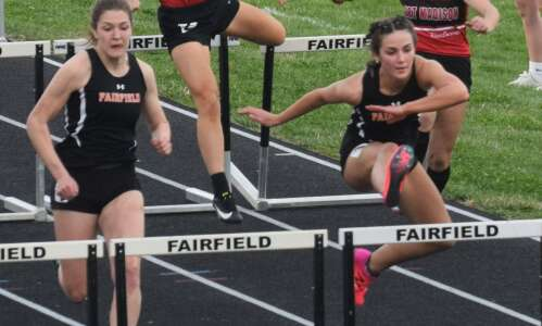 Trojans win Fairfield Relays