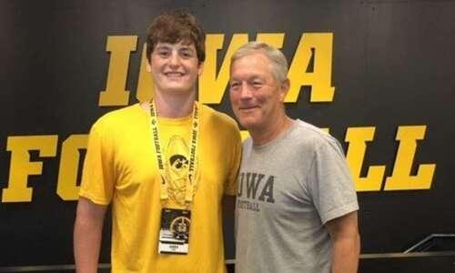 Meet Cody Fox, Iowa football's first 2024 commit