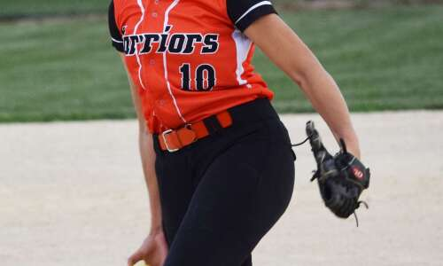VBC's Huff misses perfect softball game with walk, records 16-strikeout…