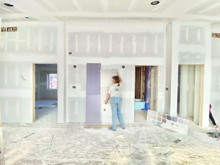 Raines builds home south of Fairfield