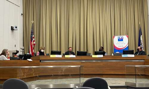 Iowa City Council candidates discuss climate change, county's armored vehicle