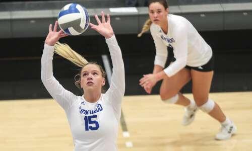 Photos: Kirkwood CC womens volleyball vs Iowa Lakes CC