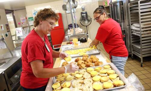 Iowa schools get creative with food supply challenges
