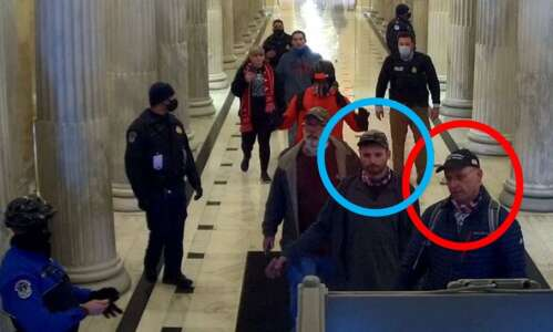 Iowa father, son charged with storming Capitol during Jan. 6…