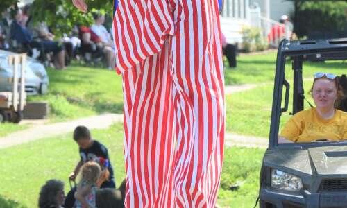 Greg Rich remembered at Wayland parade