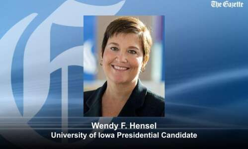 University of Iowa 3rd presidential finalist: Georgia State Provost Wendy…