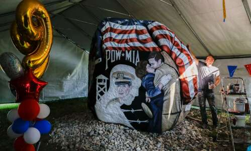 Eight-year Iowa Freedom Rock Tour ends in Linn County