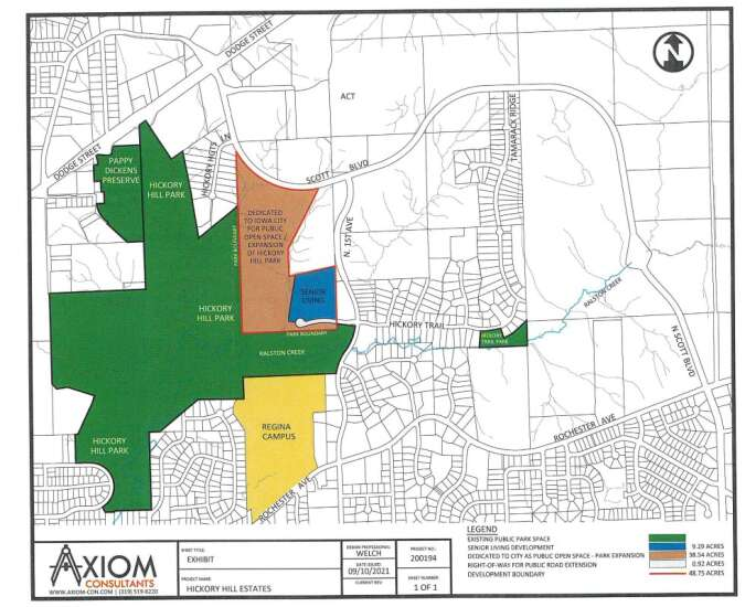 Development near Hickory Hill Park gets revised for fourth time