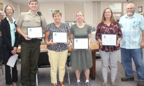 Washington County employees recognized for years of service