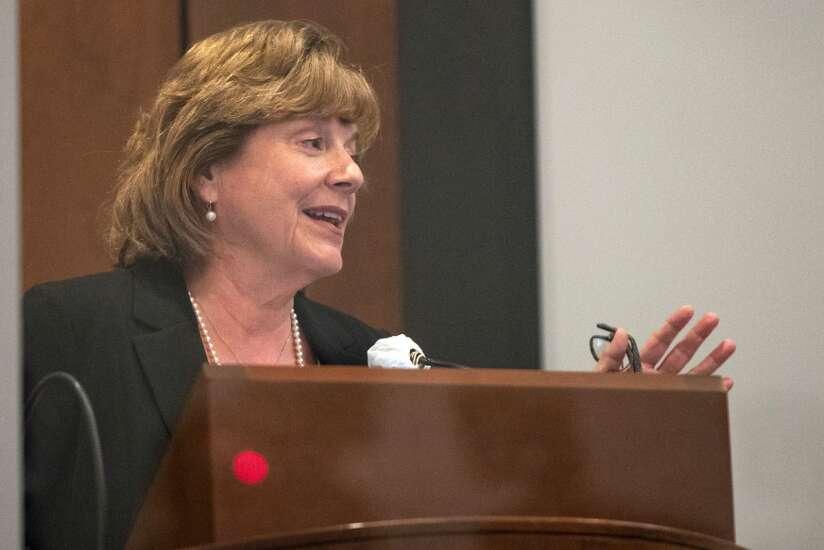 2nd University of Iowa presidential finalist touts visibility, diversity, communication