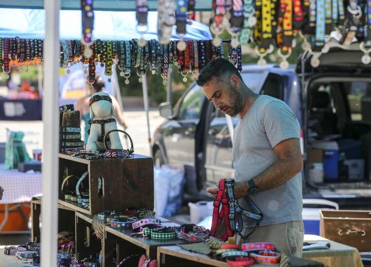 Photos from Cedar Rapids Downtown Farmers Market Saturday
