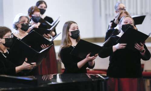 Making music again: choirs return to singing in concert