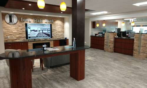 Iowa State Bank moves employees to newly remodeled space
