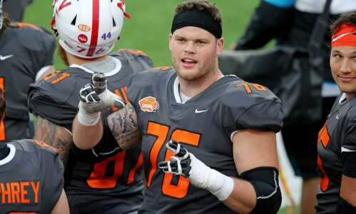 UNI's Spencer Brown picked by Buffalo Bills in NFL Draft