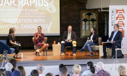 Four Cedar Rapids mayoral hopefuls share visions for innovation