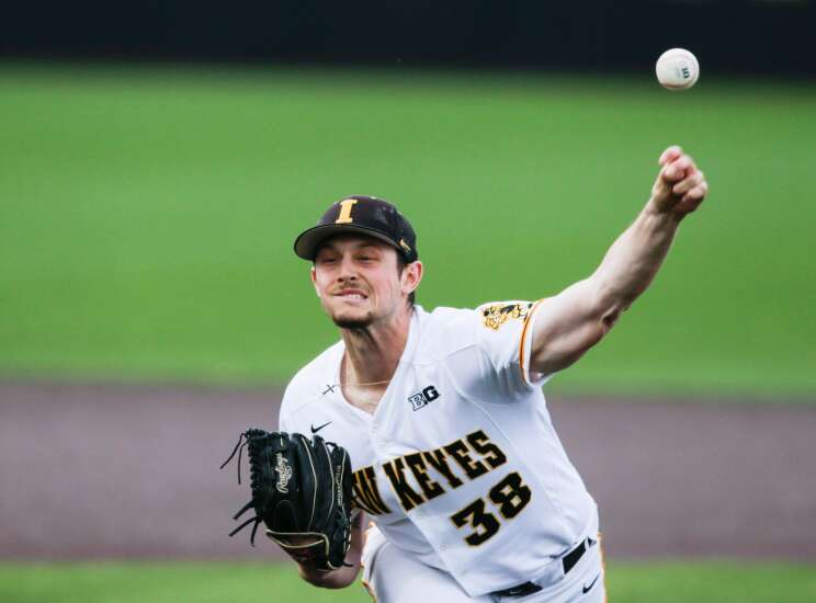 Iowa Hawkeyes pitchers Trenton Wallace, Drew Irvine selected in MLB Draft