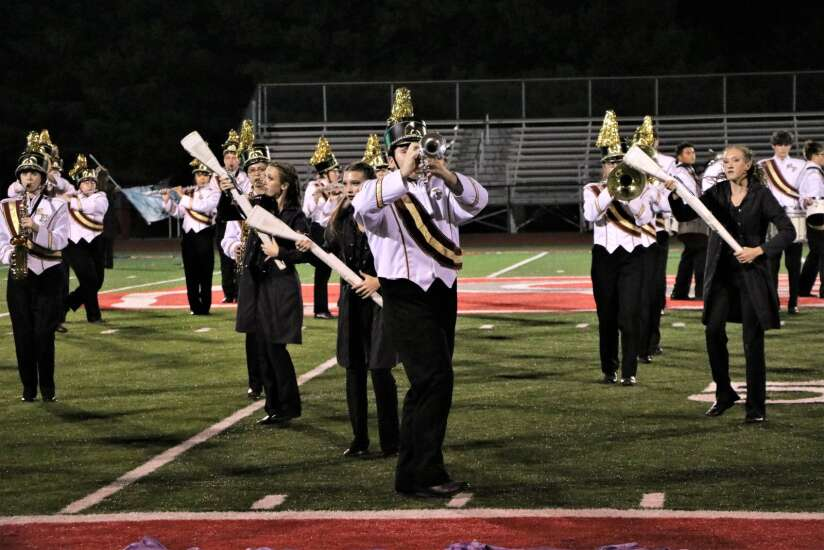 Mt. Pleasant band takes first at Parade of Champions
