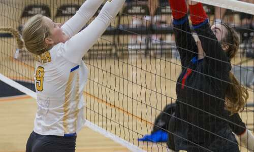 Photos: Cedar Rapids Prairie Invitational volleyball tournament