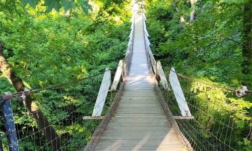 Columbus Junction Swinging Bridge a fun day trip