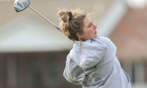 Xavier's Kaitlin Hotchkiss finds her passion on golf course