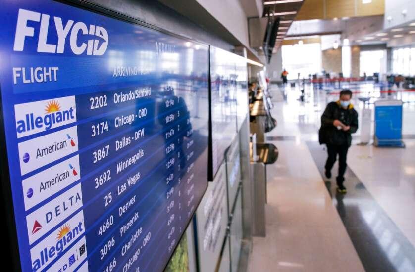 Eastern Iowa Airport to halt health screenings July 1