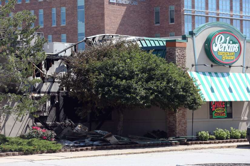 Coralville Perkins sustains $500,000 in fire damage