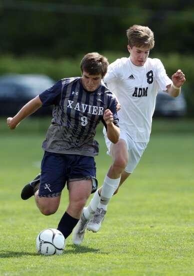 Photos: Cedar Rapids Xavier vs. Adel ADM, Iowa Class 2A boys' state soccer semifinals
